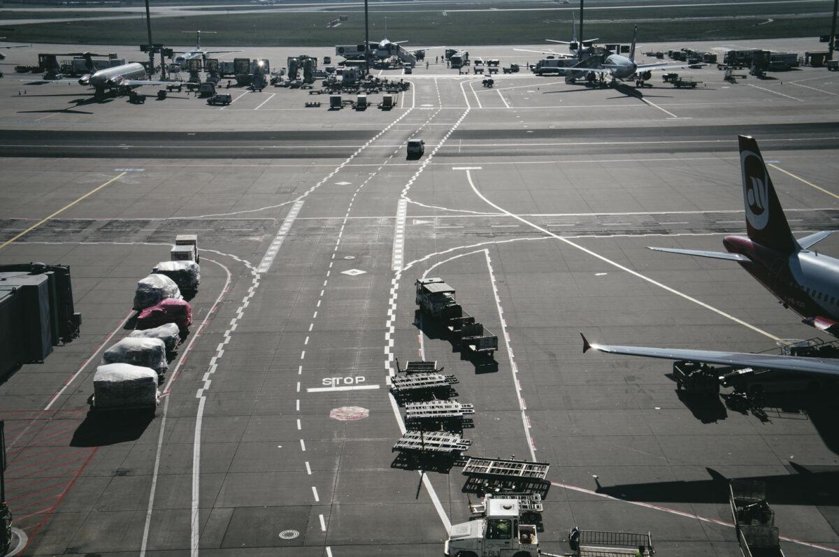 Besucherplattform Flughafen Frankfurt